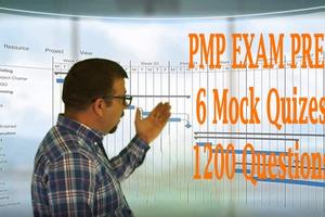 PMP Certification Exam Prep PMBOK 6 quizes = 1200 Questions