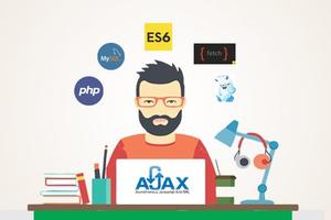 Php mysql Development with Ajax & Modern JavaScript ES6