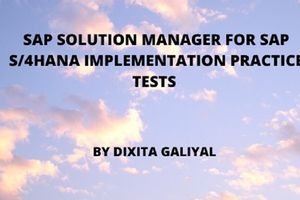 SAP Solution Manager for SAP S/4HANA Implementation