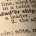 University Governance and Academic Leadership (HE)